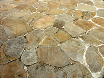 Stein-Fußboden Lizenzfreies Stockbild
