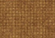 Stein-hölzerner Fliesenbraunhintergrund Stockbild
