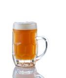 Stein ha riempito di Amber Beer immagini stock libere da diritti