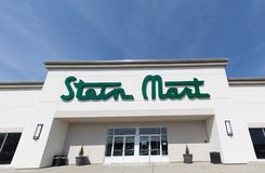 Stein Mart Retail Store. Philadelphia, Pennsylvania, April 21 2018: Stein Mart Retail Store stock photo