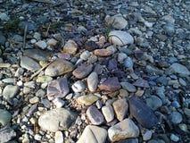 Stein mit Sonnenschein Lizenzfreie Stockbilder
