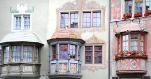 Stein morgens Rhein Stockfoto