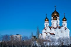 Stein, pyatiprestolny, gegründet 1824 mittels der Fabrikinhaber Yakovlev Lizenzfreie Stockbilder