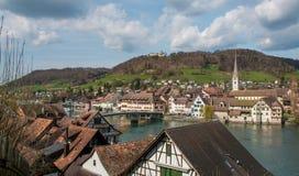 Stein Reno, Svizzera fotografia stock