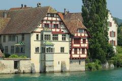 Stein am Rhein Fotografering för Bildbyråer