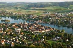 Stein AM Rhein de ci-avant. Photo libre de droits