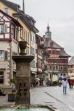 Stein am Rhein die Schweiz Lizenzfreies Stockbild