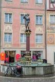 Stein am Rhein die Schweiz Lizenzfreies Stockfoto