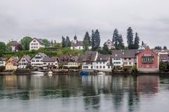 Stein am Rhein die Schweiz Lizenzfreie Stockfotos
