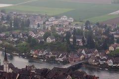 Stein am Rhein die Schweiz Stockfotografie