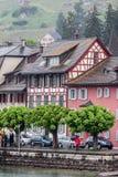 Stein am Rhein Schweiz Royaltyfri Fotografi