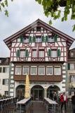 Stein am Rhein Schweiz Arkivfoton