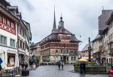 Stein am Rhein Suisse photos libres de droits