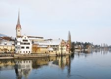 Stein am Rhein, Switzerland Stock Photography