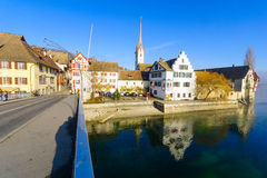 Stein am Rhein, Switzerland Royalty Free Stock Image