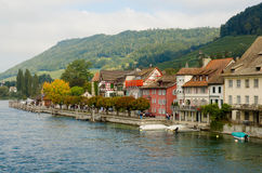 Stein Am Rhein of Switzerland Royalty Free Stock Photos