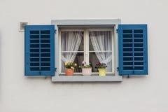 Stein am Rhein Switzerland Typical Window Stock Image