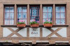 Stein am Rhein Switzerland Typical Window Royalty Free Stock Photos