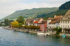 Stein Am Rhein van Zwitserland Royalty-vrije Stock Foto's