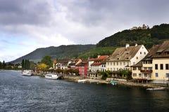 Stein-Être-Rhein Photos libres de droits