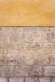 Stein und Adobe-Wand Stockfoto
