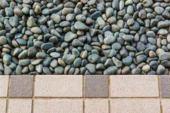 Stein und Fliesenböden Stockbild