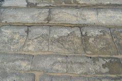 Stein und Sand Stockfoto