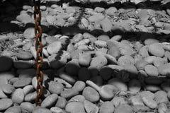 Stein und Schatten lizenzfreie stockbilder