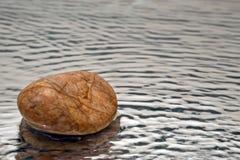 Stein und Wasser Stockfotografie