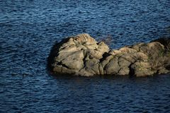 Stein und Wasser Lizenzfreie Stockbilder