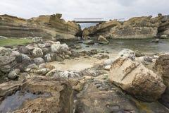 Stein und Wasser Lizenzfreies Stockfoto