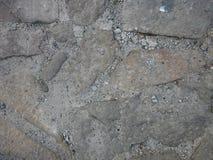 Stein und Zement Stockbild