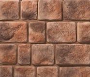 Stein- und Ziegelsteinsteinmauern lizenzfreie stockfotografie