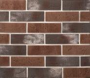 Stein- und Ziegelsteinsteinmauern Lizenzfreies Stockfoto