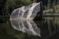 Stein von Mirror See Lizenzfreie Stockbilder