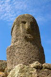 Steinabbildung der alten Zivilisation Stockfotos