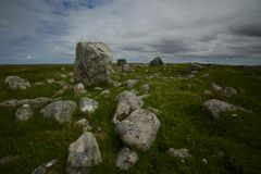 Steinacleit石头圈子 库存照片