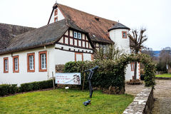 STEINAU, GERMANY-MARCH 06, 2015: Birthplace of the Brothers Grimm  Stock Images
