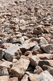 Steinauszug Stockfotografie