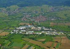 Steinbach Baden-Baden, aerial Royalty Free Stock Image