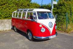 Beautiful restored VW Bully Stock Image