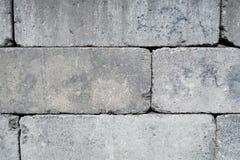 Steinbacksteinmauer Lizenzfreie Stockfotografie