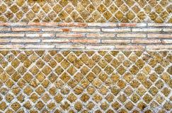 Steinbacksteinmauer-Beschaffenheit, verwendet möglicherweise als Hintergrund Stockfotografie