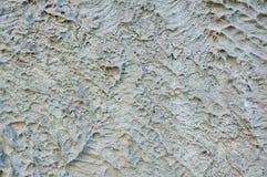 Steinbeschaffenheit, die Oberfläche des verfestigten Betons in den grauen Tönen entziehen Sie Hintergrund stockfoto