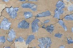 Steinbeschaffenheit, mit Zementwandhintergrund Stockbilder