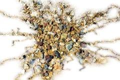 Steinblitzform, abstrakter Hintergrund Lizenzfreie Stockfotos