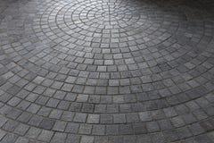 Steinblockboden der Pflasterung Lizenzfreies Stockbild