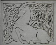 steinbock lizenzfreie stockbilder