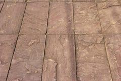 Steinbodenhintergründe Stockfoto