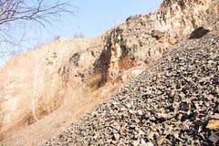 Steinbruch Stockfoto